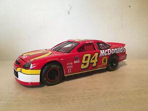 Rare Nascar Bill Elliott #94 McDonalds Ford Taurus 124 Scale Diecast 1998 dc2061