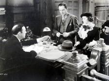 FREDRIC MARCH & SYLVIA SIDNEY Movie Film 8x10 PHOTO Good DAME 1934 ws42