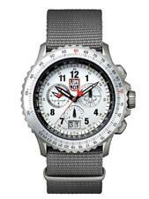 New Luminox F-22 RAPTOR White Dial NATO Band Men's Titanium Watch XA.9249