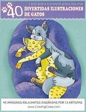 Serie de Libros con Animales Domésticos: Libro para Colorear para Adultos :...
