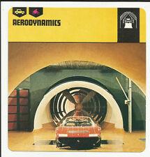 1978 Edito-Service Auto Rally Aerodynamics Card