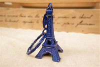 Blue Eiffel Tower Charm Phone Bag Car Key ring keyring