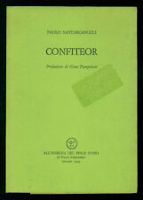 SANTARCANGELI PAOLO CONFITEOR ALL'INSEGNA DEL PESCE D'ORO 1993 ACQUARIO 207