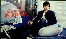 2006 James Blunt Rock Music Memorabilia Album,Cd Verizon Wireless Art Trade AD