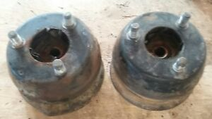 75 DATSUN 280Z FRONT COIL SPRING TOP CAPS BEARINGS ISOLATORS STRUT NUTS OEM