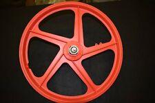 GRIMECA MAG 20'' rear wheel old school bmx Red Italy 1,20x16'' plastic NOS 1980s