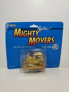 1991 ERTL MIGHTY MOVERS Replica #2416 CAT D6H TRACK-TYPE TRACTOR DIE-CAST NOC!