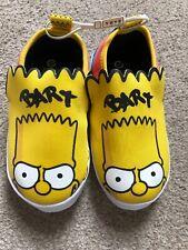 Zara Kids Bart Simpson Slippers The Simpsons Retro Size 11 Junior