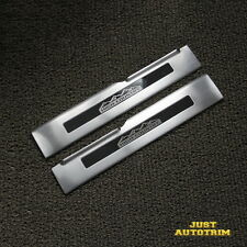 2PCS Chevrolet Silverado 1500 2500  High Country Pattern Front Door Sill Guards