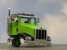 1/64 SPECCAST LIME GREEN BLACK PETERBILT 385 DAY CAB