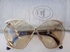 VINTAGE CHRISTIAN DIOR BUTTERFLY 2056 42OPTYL WHITE PINK LIGHT LENS 80'S AUSTRIA