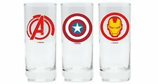 Marvel Comics - Gläser 3er Set - Avengers - Captain America - Iron Man