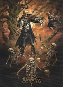 Alchemy Gothic Danse Macabre Official Postcard