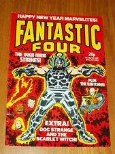 FANTASTIC FOUR #14 MARVEL BRITISH WEEKLY 5 JANUARY 1983