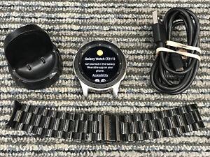 Samsung Galaxy Watch Gear S4  SM-R805U 46mm Verizon LTE Silver