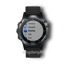 Brand New Garmin Quatix 5 Marine Multisport GPS Watch w/Black Band #010-01688-40