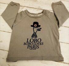 Bobo Choses Vintage Unisex Sweatshirt Top Ex. Condition Size 2-3 (small Fit)