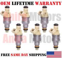 6x OEM Bosch Fuel Injectors for 97-01 Dodge RAM 1500 3.9L V6 #0280150998