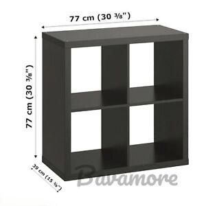 """IKEA KALLAX Shelf Unit, Black-brown, 30⅜""""x30⅜"""" BRAND NEW-"""