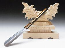 Medium Blade! Shave Ready! TAMAHAGANE NAGAMASA J*apanese Straight Razor #A-190