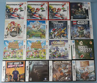 Lot of 16 Nintendo 3DS DS Empty Game Cases (NO GAMES) Mario Kart 7, Fantasy Life