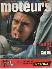 MOTEURS 39 1963 TOUR AUTO RENE BONNET DJET I ALFA ROMEO GIULIA TI GP ALLEMAGNE