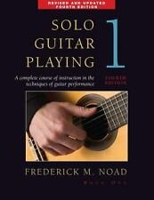 Solo Guitar Playing Bk. 1 by Frederick Noad (2008, Paperback, Revised)