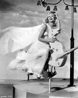 8x10 Print Rita Hayworth Whimsical Portrait Down to Earth by Ned Scott #3211