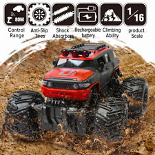 Rc Truck Off-road Vehicle Rock Crawler 2.4G Remote Control Gift Monster Car Red
