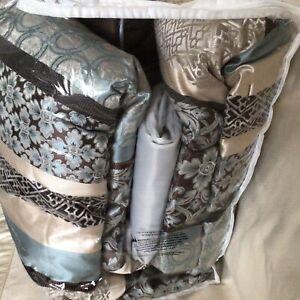 Madison Park  5-Pc. Queen Comforter Set Multi Color