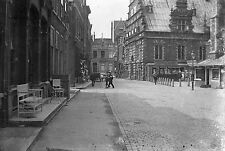 1910s HAARLEM Post Office Antique Photographic Glass Negative Holland Netherland