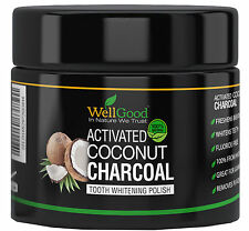 Advanced Activated Coconut Charcoal Powder Vegan Capsules - Multi-Use!