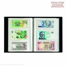 LIGHTHOUSE Banknote Album for 300 Banknotes With 100 Integrated Clear Sheets