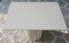 HPL Platte Tischplatte 8mm Mid Grey beidseitig 725 x 491 mm TRESPA® Meteon®
