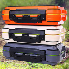Fishing Tackle Carry Tool Box Lure Bait Hook Fly Accessories Case Random Color