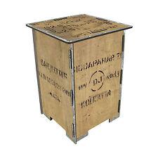Werkhaus Design + Produktion Photohocker Teekiste beige 29,5 x 29,5 cm, h 42 cm
