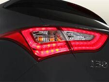 New LED Tail Lights Lamp Assembly 4p 1set For 12 13 14 Hyundai Elantra GT : i30
