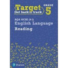 Target Grade 5 Reading AQA GCSE (9-1) English Language Workbook: Target Grade 5…