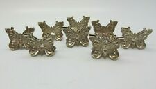 Lot of 8 Vintage TIFFANY & Co Sterling Silver Butterfly Place Card Holders