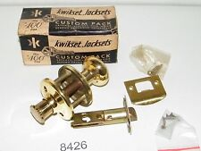 Vintage Kwikset Closet Lock Set New Old Stock #90