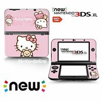 [new 3DS XL] Hello kitty #1 Limited Edition VINYL SKIN STICKER DECAL COVER for /