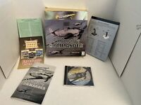 SSI LUFTWAFFE COMMANDER WWII Combat Flight Simulator PC CD-ROM Big Box Game