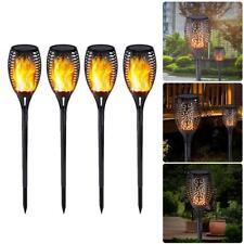 Solar Light LED Flickering Lamp Outdoor Waterproof Garden Courtyard Lawn