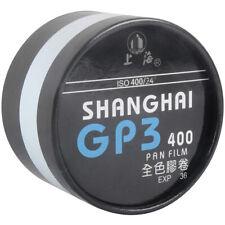Shanghai GP3 135 36EXP Bulk Roll Film Negative B&W BW ISO 400 08-2022 35mmx100ft