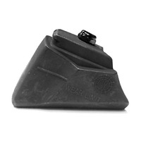 Rollerblade Standard Brake Pad Inline Skates 1 Pack, Black