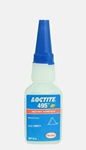 Genuine Henkel Loctite 495 - Super Glue - Instant Adhesive - General Purpose