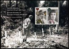 1991 Women Remembers Minisheet ANZAC Stamps Mint Australia