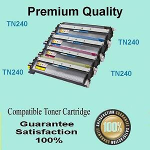 1x TN240Y Toner for Brother MFC9125 MFC9325 MFC9125CN MFC9325CW YELLOW