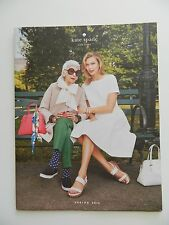 Kate Spade Spring 2015 Designer Loose Leaf Paper Booklet Catalog