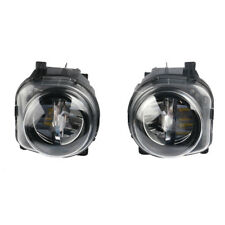 Left + Right Front LED Fog Light Lamp Foglights For BMW 5 Series F10 GT F07 LCI